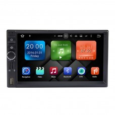 Автомагнитола 2 DIN Marshal DY7015- MG 3G( sim Карта) GPS Android 7  WiFi +16 гб/2гбОЗУ